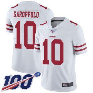 Mens 49ers Jimmy Garoppolo 100th Season Jersey